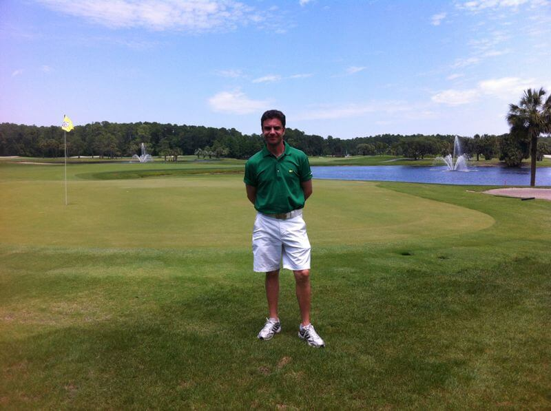 Our golf PRO Mario Fernández waits for you in a beautiful golf course